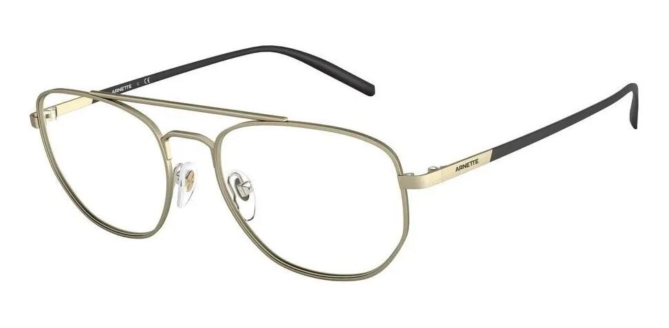 Óculos de Grau Arnette Layne Dourado/Preto AN6125 - 728/54