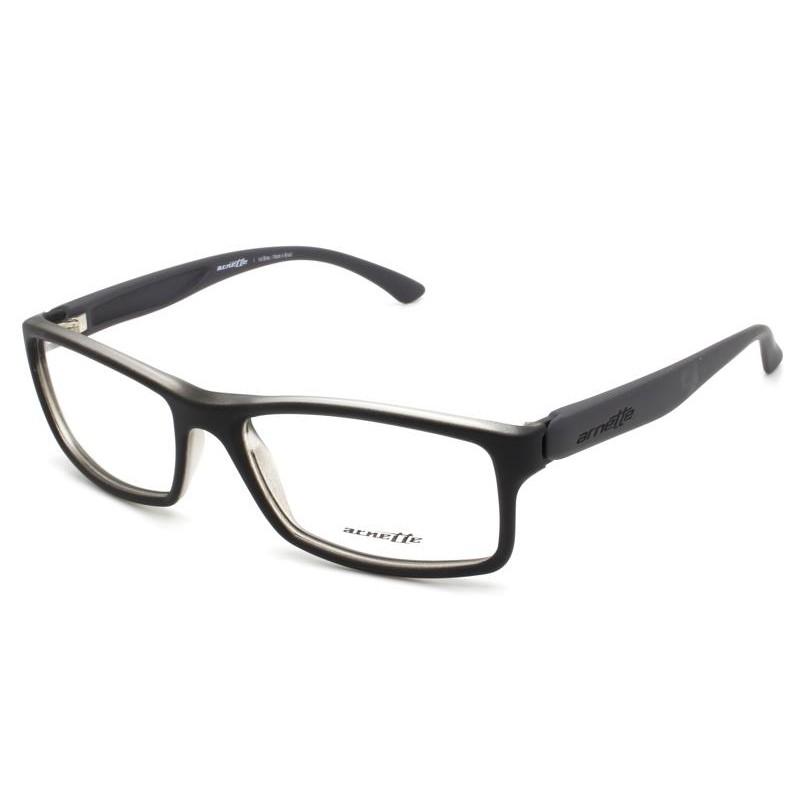 Óculos de Grau Arnette Preto/Chumbo AN7070L - 2398/54