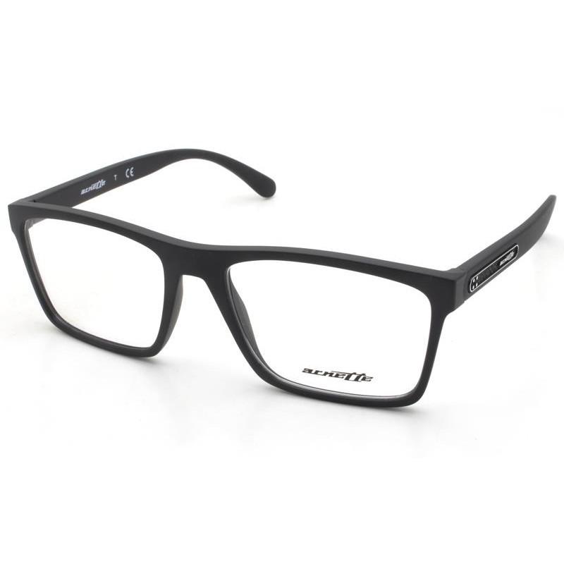 Óculos de Grau Arnette Preto Fosco AN7147 - 01/54