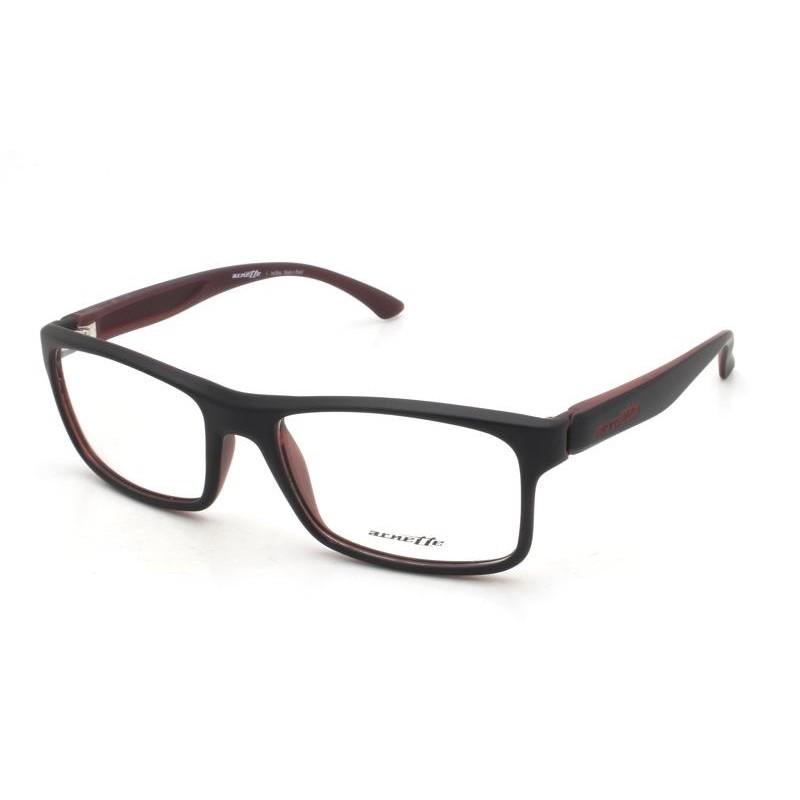 Óculos de Grau Arnette Preto/Vermelho AN7069L - 2444/53
