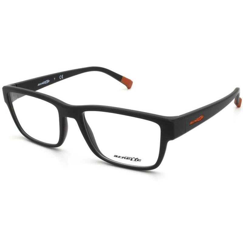Óculos de Grau Arnette Preto/Vermelho AN7165 - 01/54
