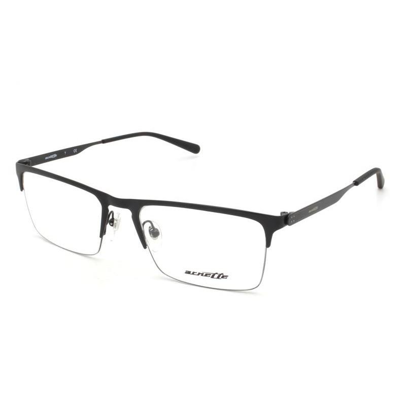 Óculos de Grau Arnette Tail Preto Fosco AN6118 - 696/54