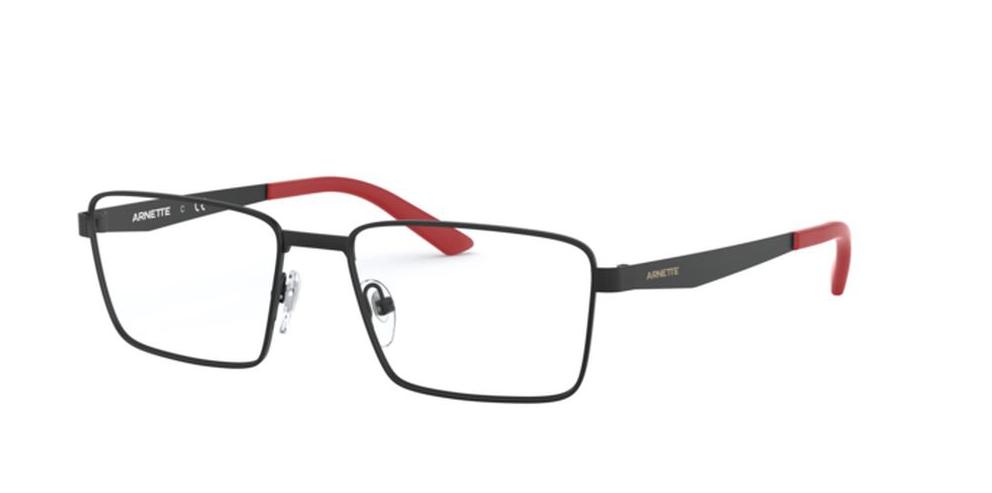 Óculos de Grau Arnette Vesterbro Preto Fosco/Vermelho AN6123 - 501/53