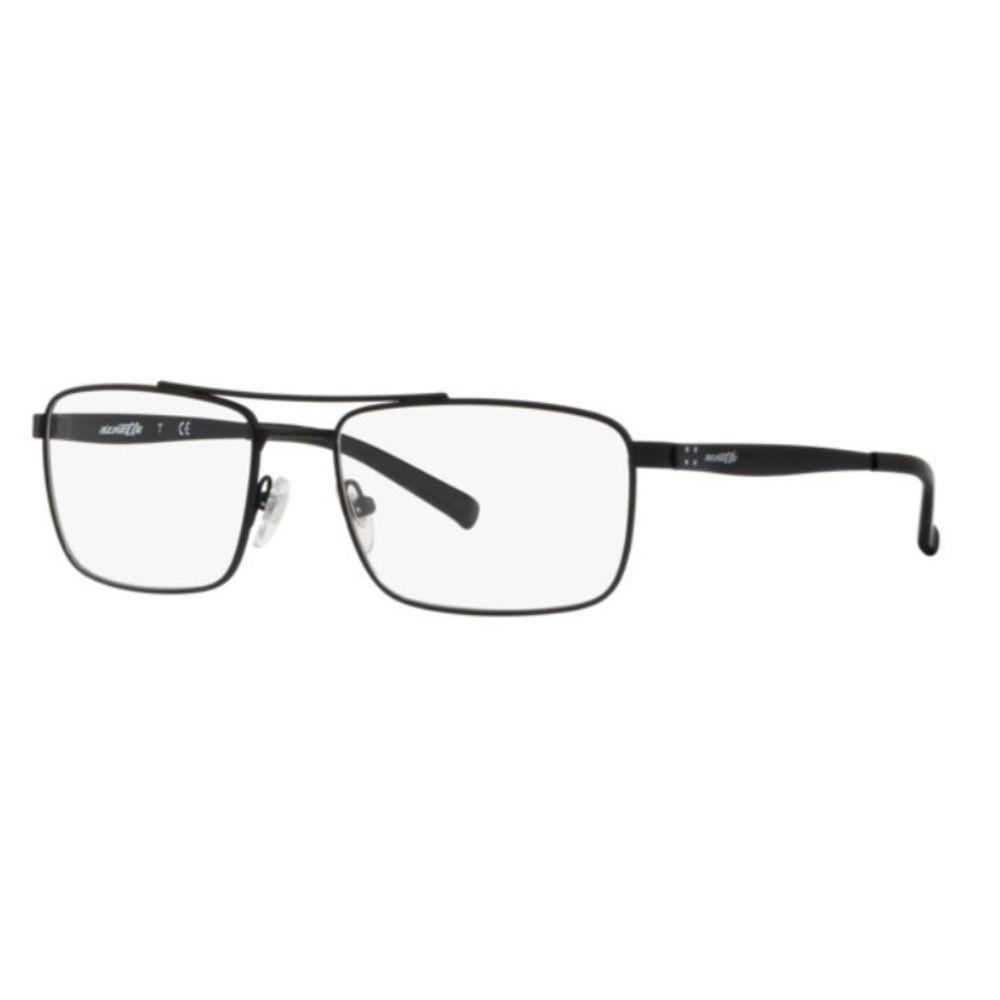 Óculos de Grau Arnette Zipline Preto AN6119 - 696/55