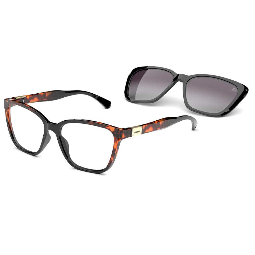 Óculos De Grau Colcci Bandy3 Clip-on C6149 A31/57