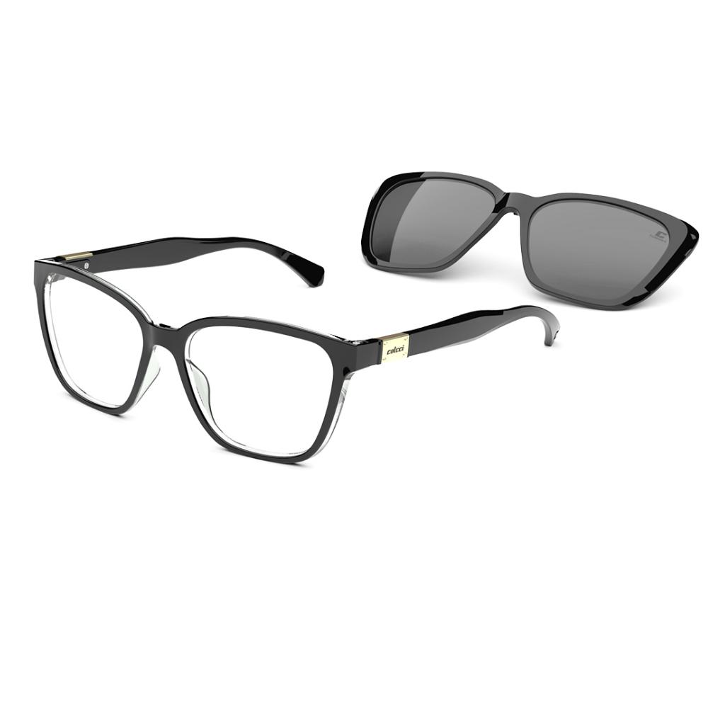 Óculos De Grau Colcci Bandy3 Clip-on C6149 A94/57