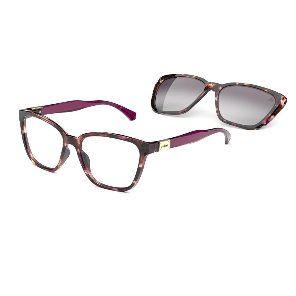 Óculos De Grau Colcci Bandy3 Clip-on C6149 FF5/57