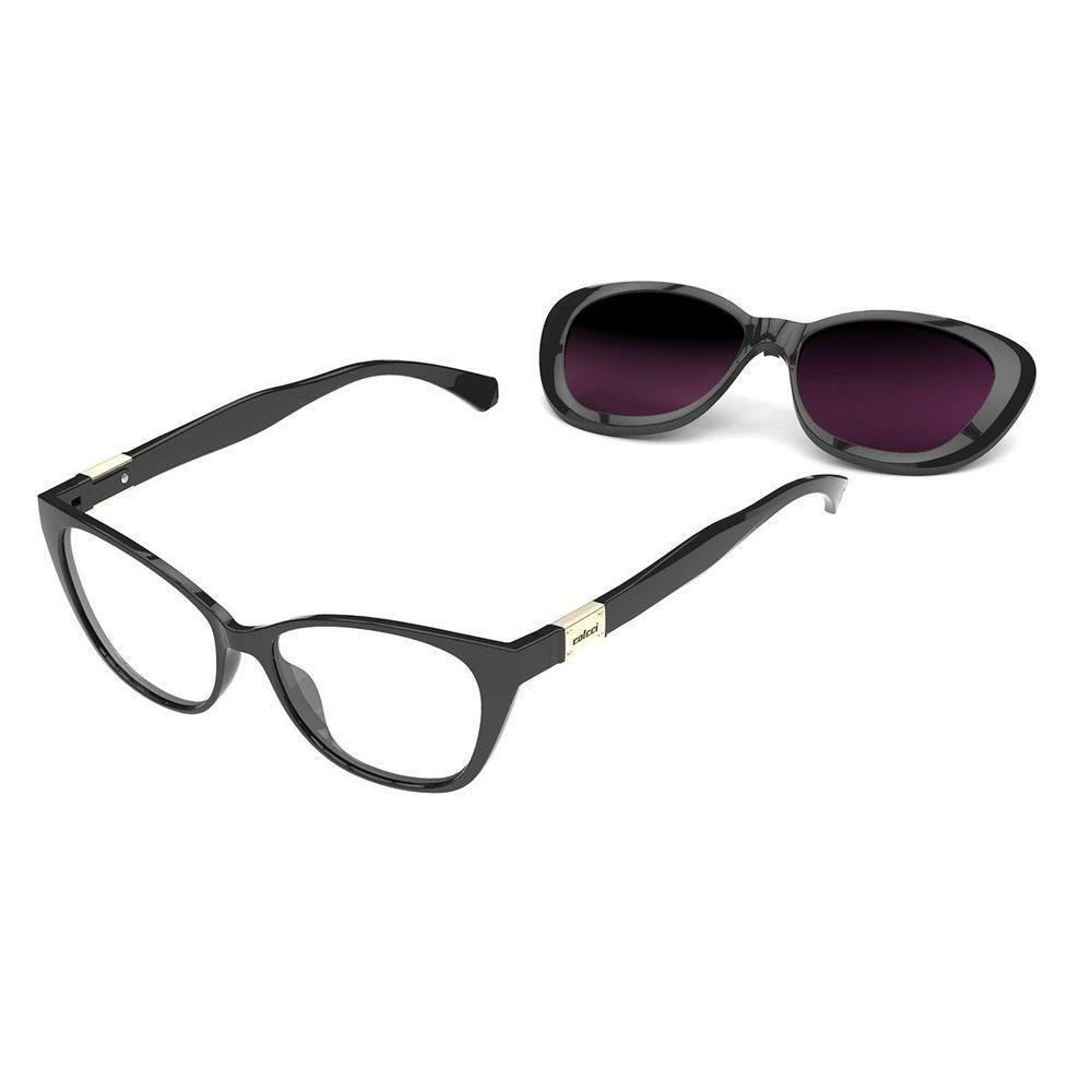 Óculos De Grau Colcci Bandy 2 Clip Preto C6123A0252