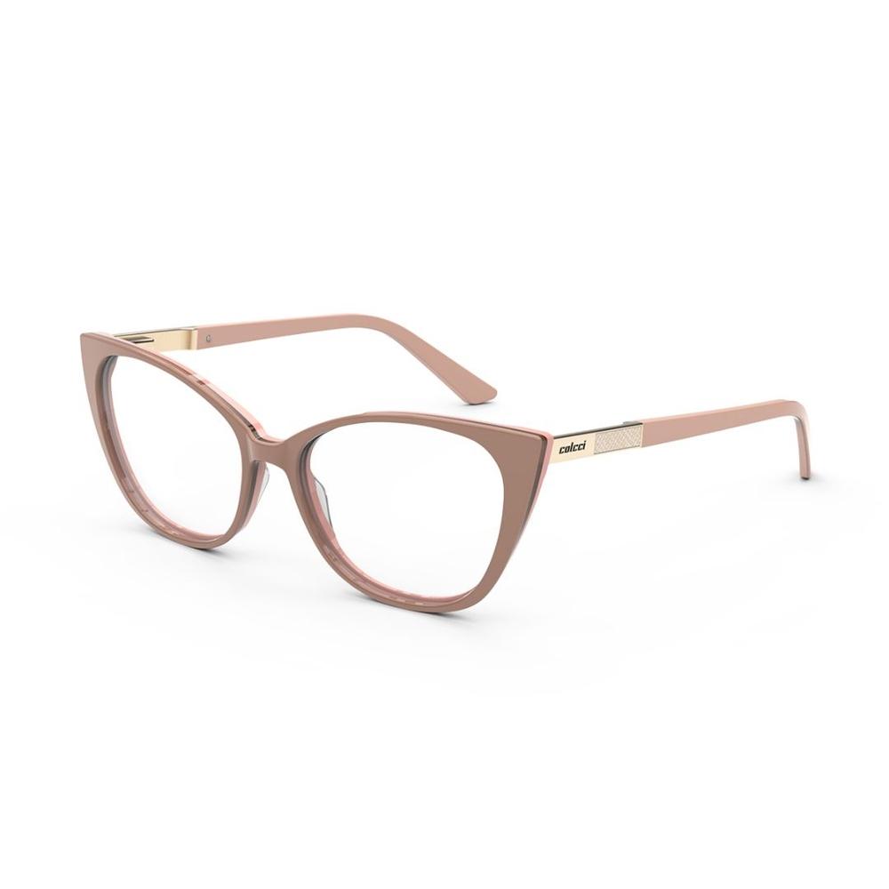 Óculos De Grau Colcci Mila Nude  C6151b9454