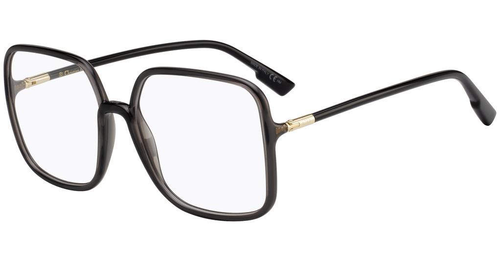 Óculos de Grau Dior Cinza/Grafite SOSTELLAIREO1 - KB7/58