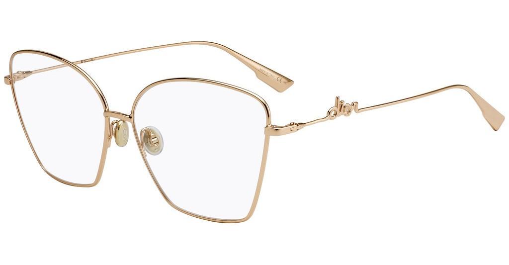 Óculos de Grau Dior Dourado DIORSIGNATUREO1 - DDB/61