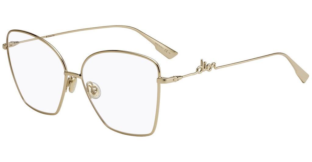 Óculos de Grau Dior Dourado DIORSIGNATUREO1 - J5G/61
