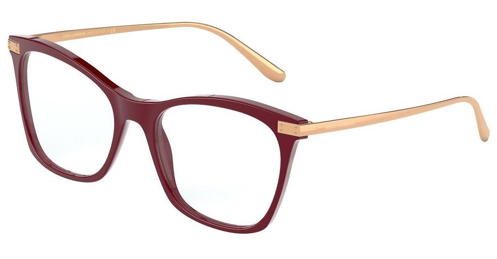 Óculos de Grau Dolce & Gabbana Bordô DG3331 - 3091/54