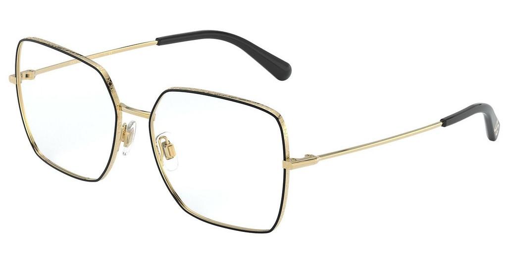 Óculos de Grau Dolce & Gabbana Dourado/Preto DG1323 - 1334/54