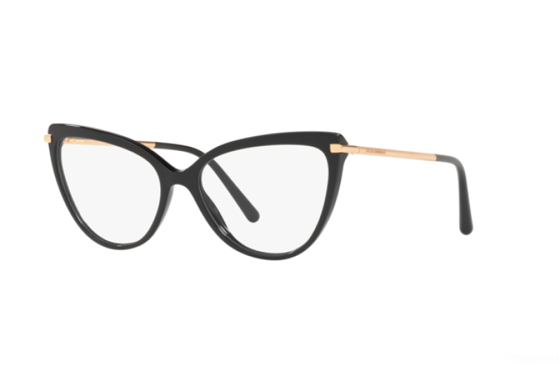 Óculos de Grau Dolce & Gabbana Preto DG3295 - 501/55