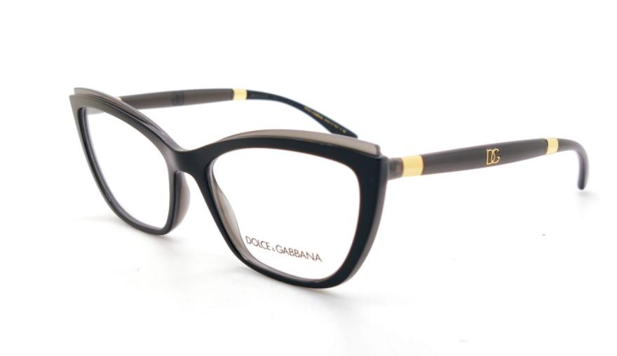Óculos de Grau Dolce & Gabbana Preto DG5054 - 3246/56