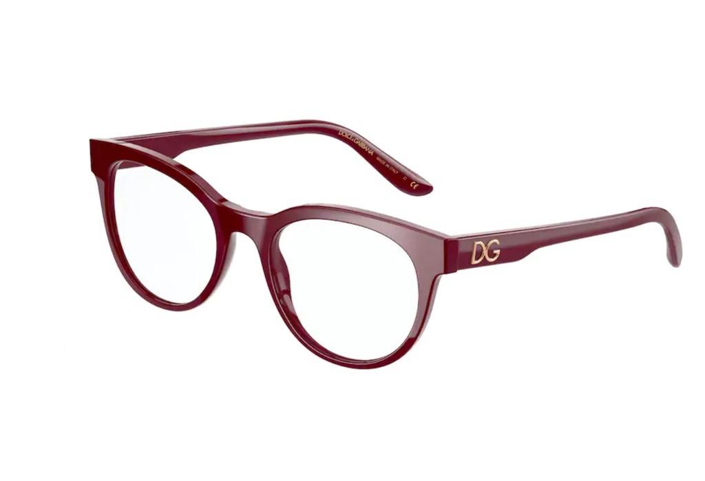 Óculos de Grau Dolce & Gabbana Bordô DG3334 - 3091/52