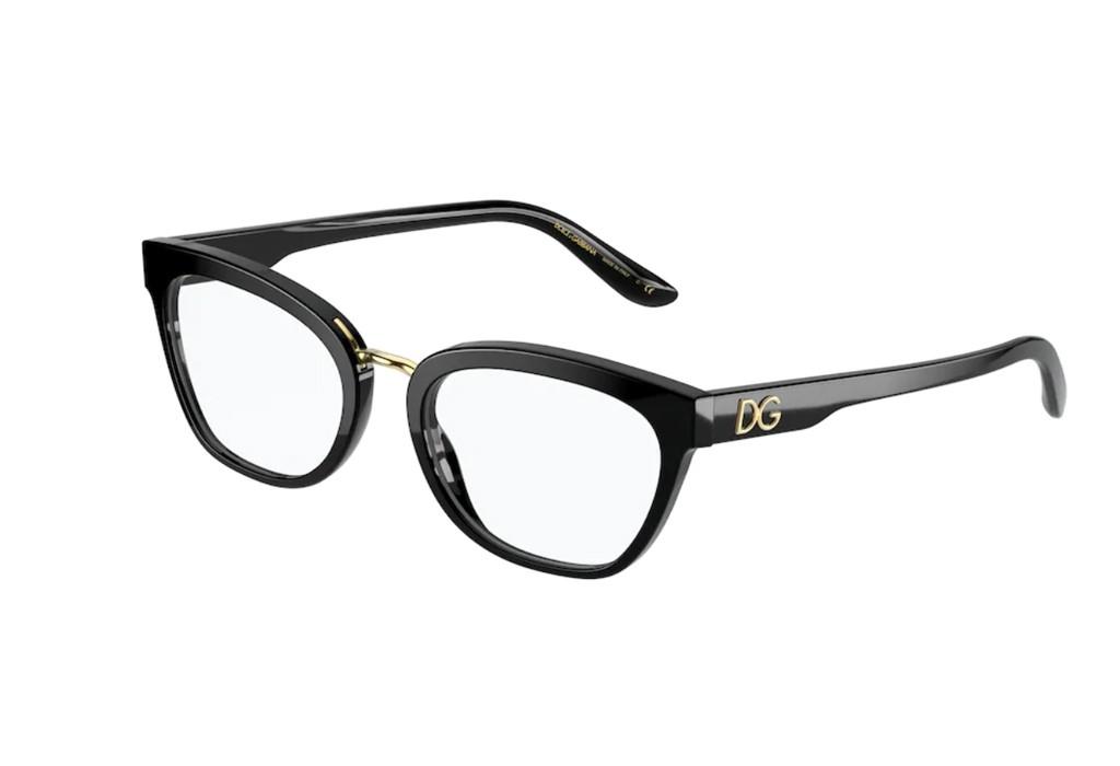 Óculos de Grau Dolce & Gabbana Preto DG3335 - 501/54
