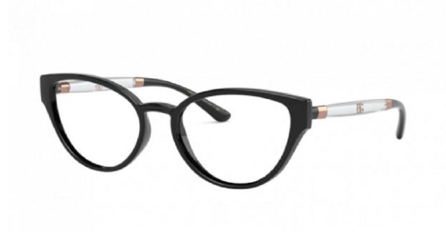 Óculos de Grau Dolce & Gabbana Preto DG5055 - 5012/54