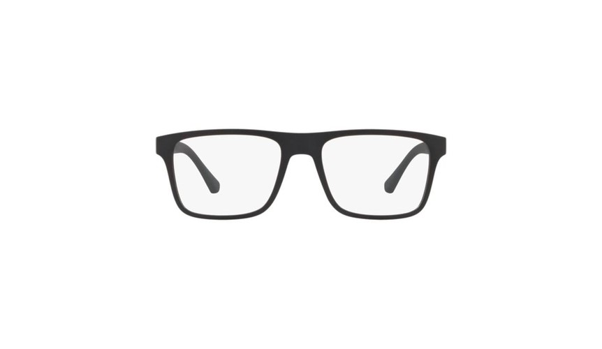 Óculos De Grau Empório Armani Clip On  EA41158011W/54