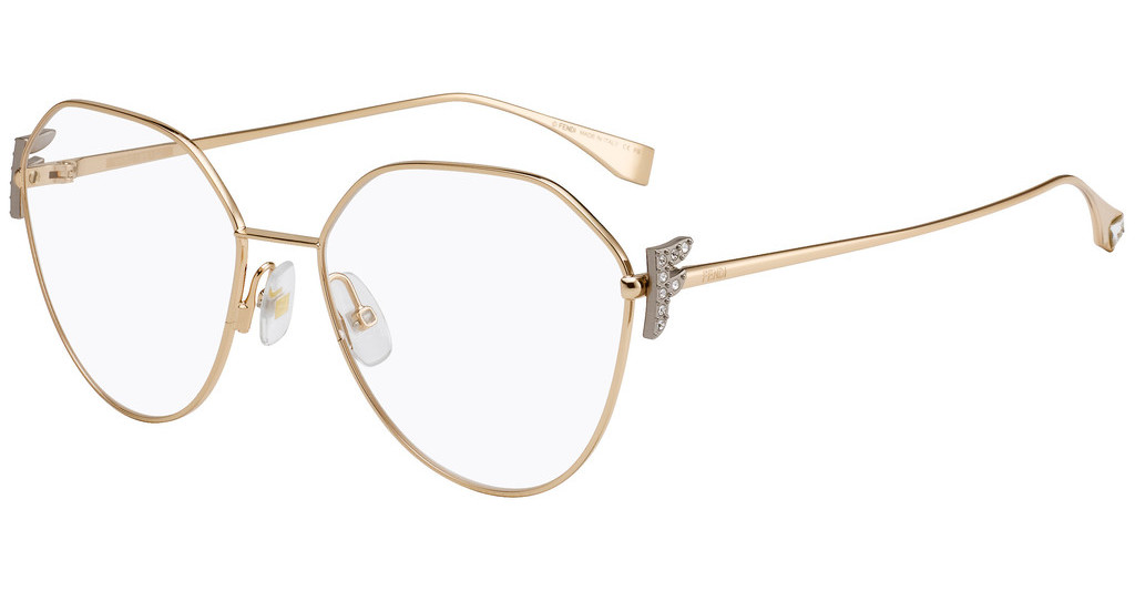 Óculos de Grau Fendi FF0389/G - DDB/55