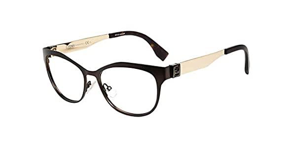 Óculos de Grau Fendi Marrom Fosco FF0114 - H2O/53