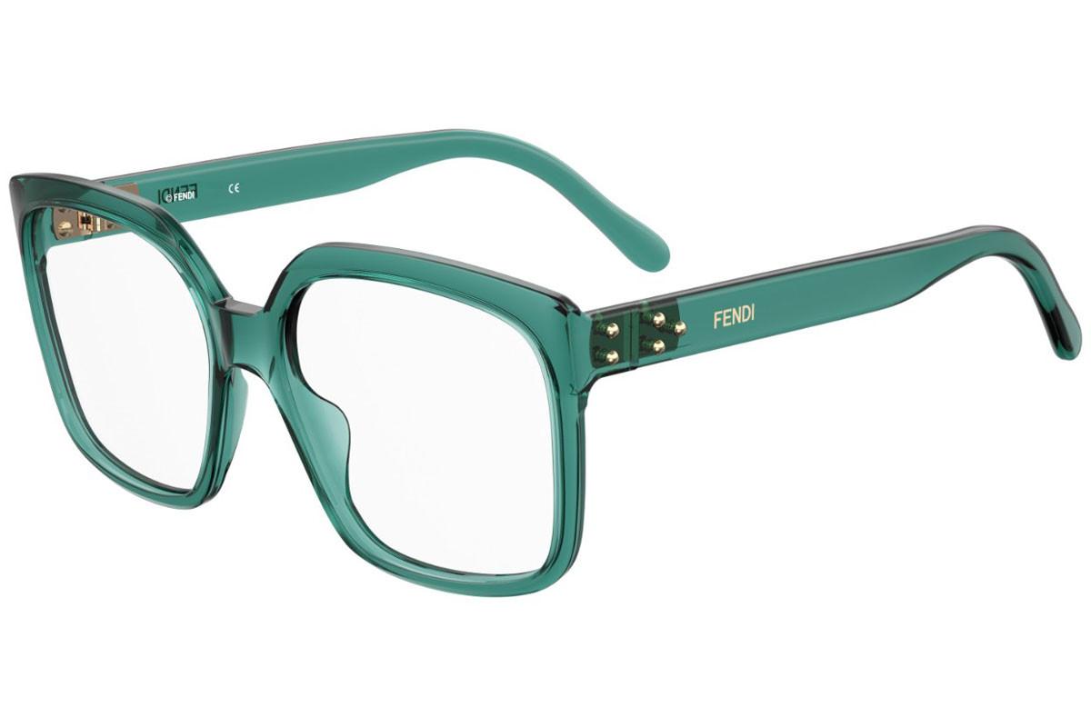 Óculos de Grau Fendi Petróleo FF0420 - MR8/55