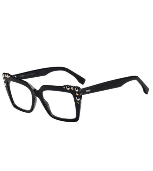 Óculos de Grau Fendi Preto FF0262 - 807/51