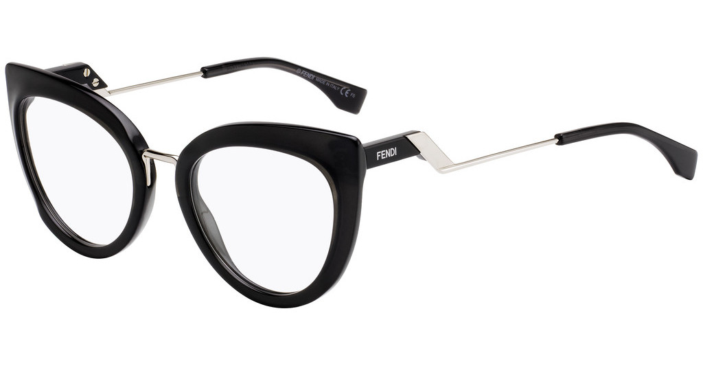 Óculos de Grau Fendi Preto FF0334 - 807/51