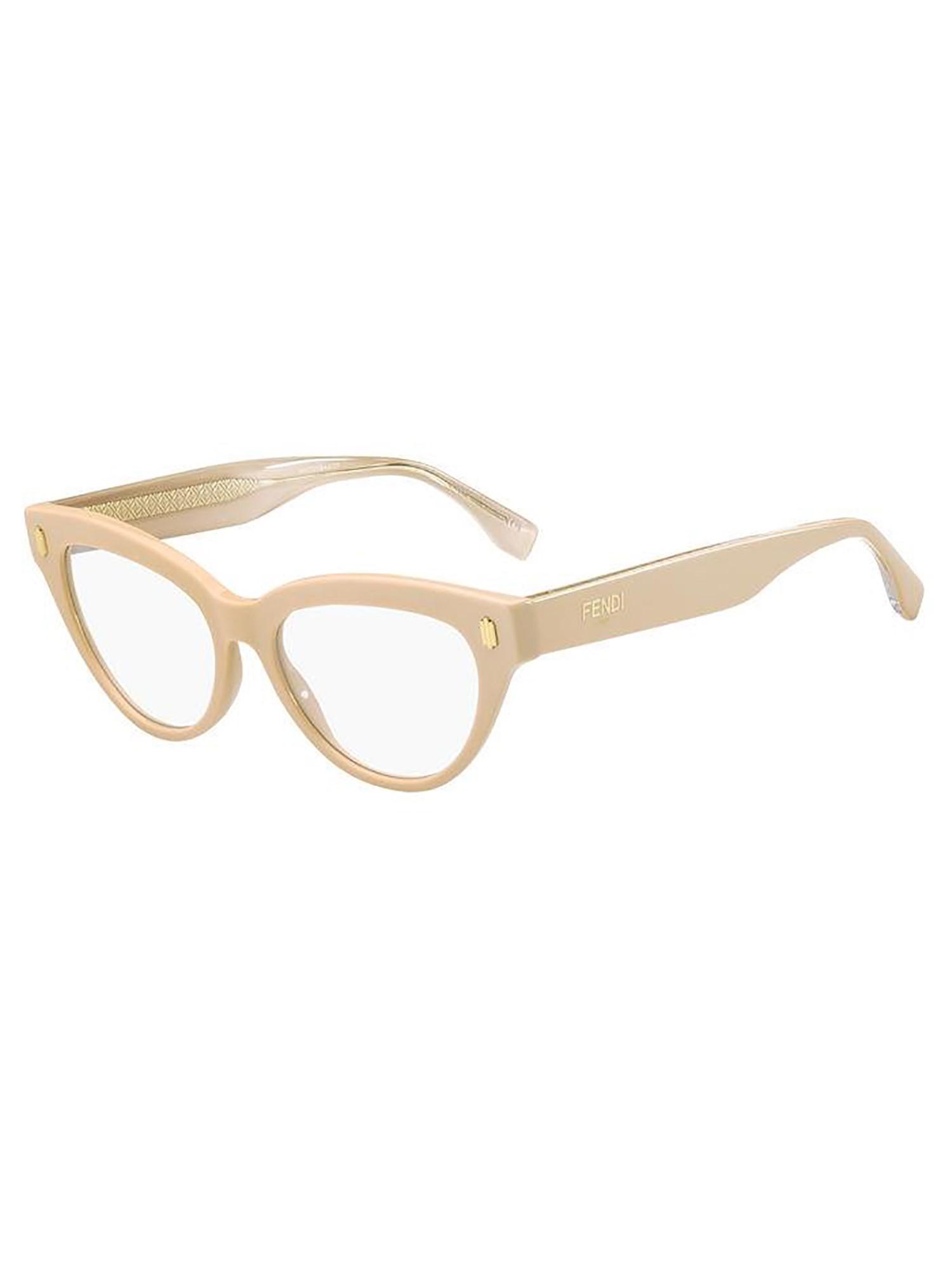 Óculos De Grau Fendi Rosa FF0443