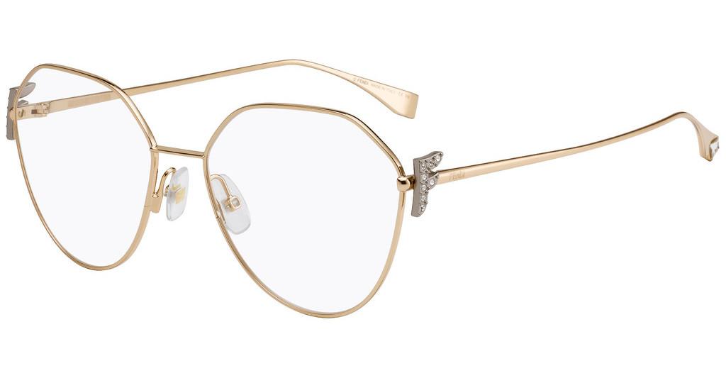 Óculos de Grau Fendi Rosé FF0389/G - DDB/55