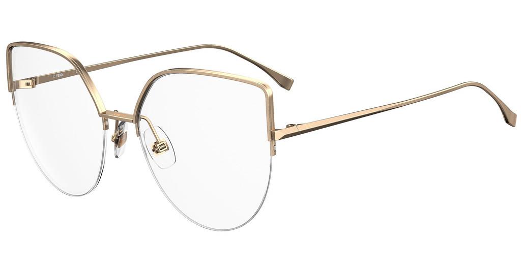 Óculos de Grau Fendi Rosé Gold FF0423 - 000/55