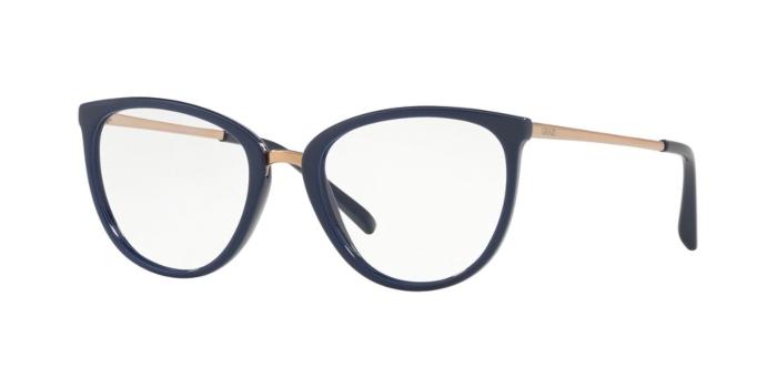Óculos de Grau Grazi Azul Escuro/Dourado GZ3052 - G080/50