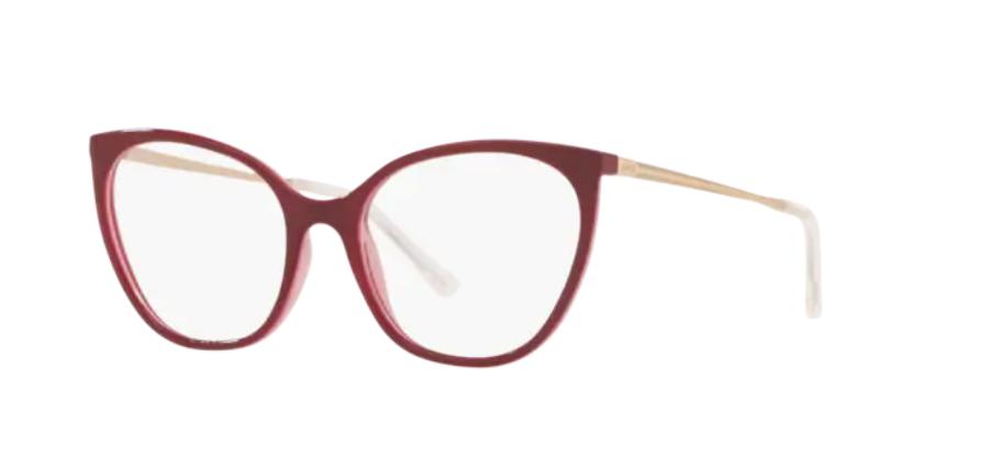 Óculos de Grau Grazi Bordô GZ3074 - H263/52