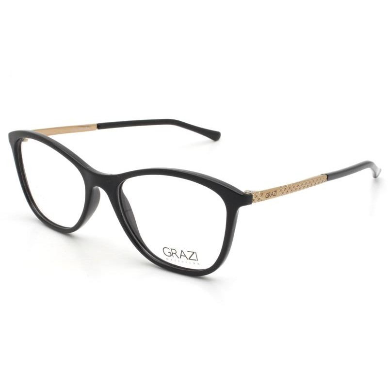 Óculos de Grau Grazi Preto GZ3041 - F242/52