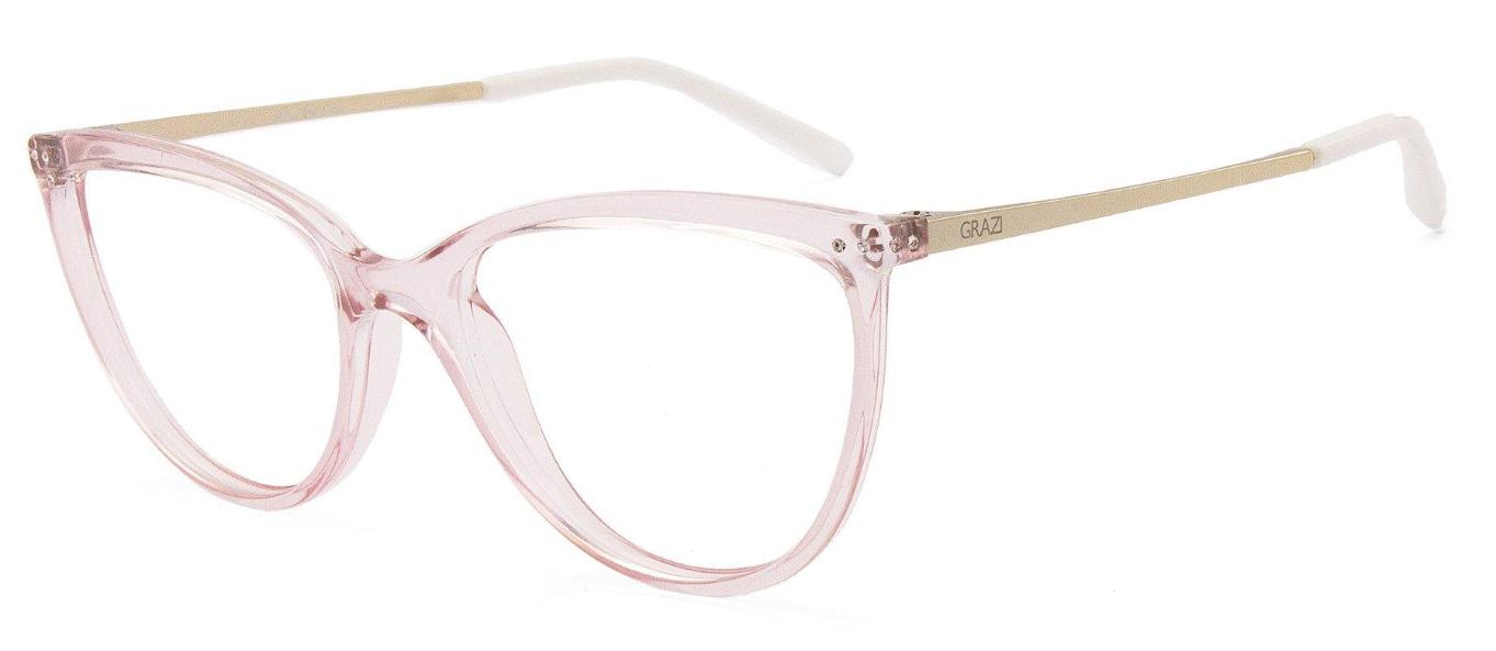 Óculos de Grau Grazi Rosa Transparente GZ3059B- H251/51
