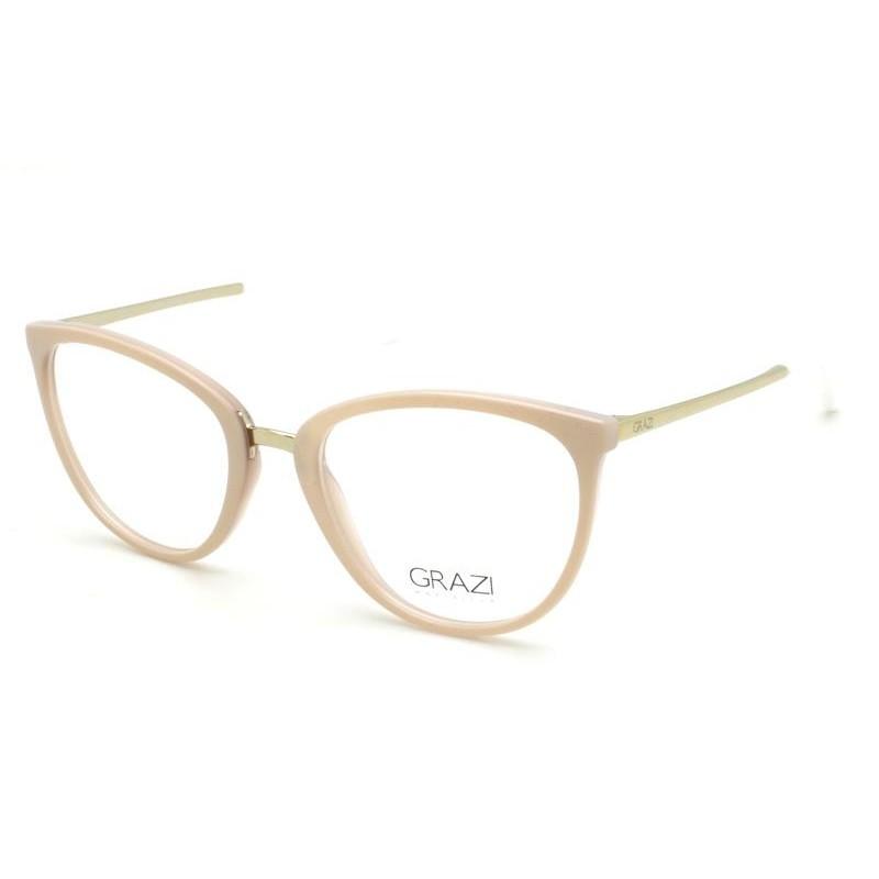 Óculos de Grau Grazi Rosé/Prata GZ3052 - G822/50