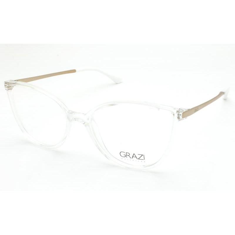Óculos de Grau Grazi Transparente/Dourado GZ3066 - G691/51