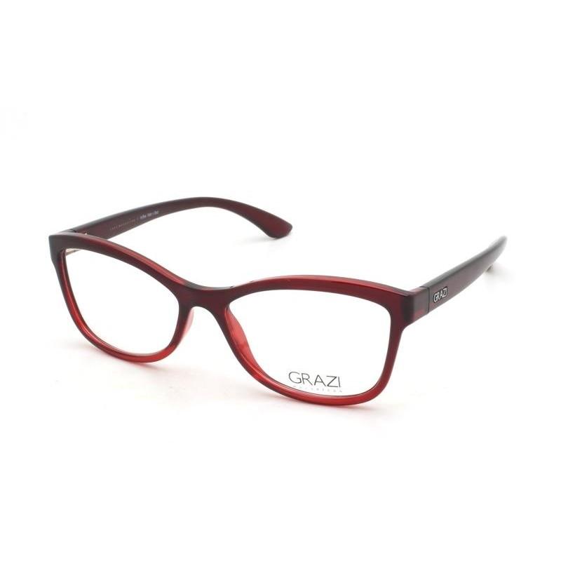 Óculos de Grau Grazi Vermelho/Bordô GZ3036 - F059/52