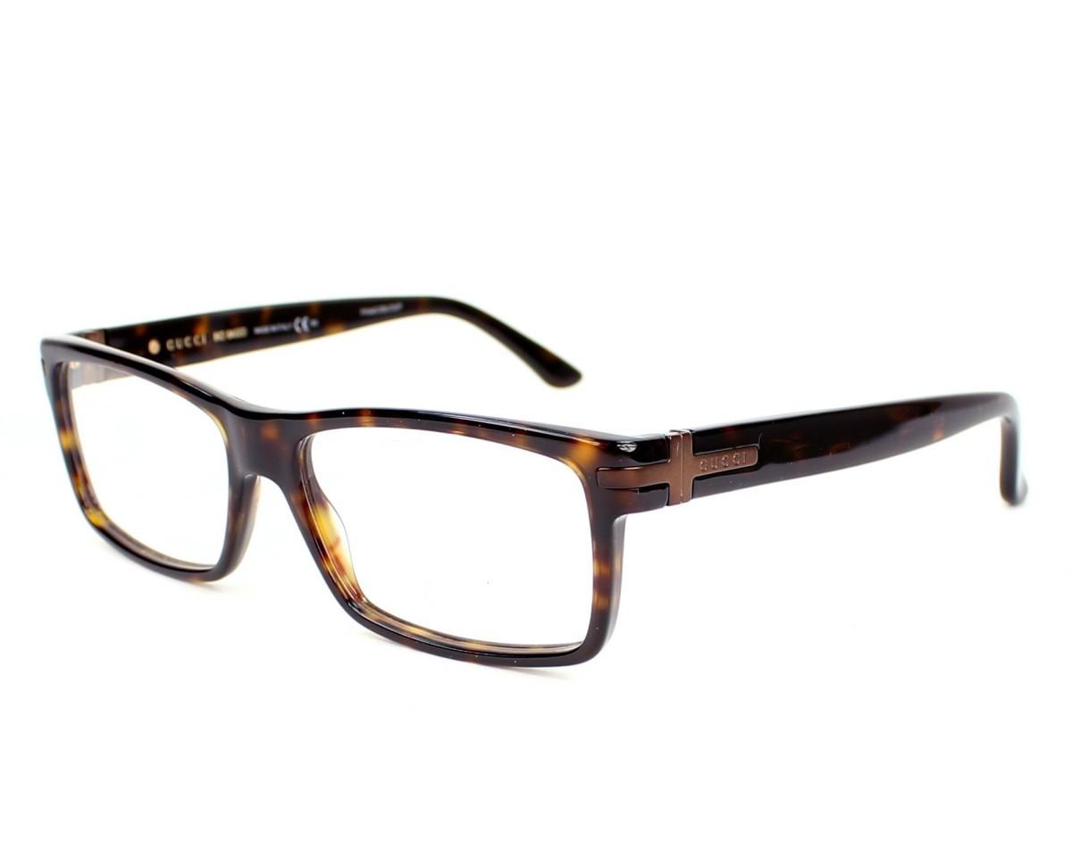 Óculos de Grau Gucci Havana GG1053 - WR9/53