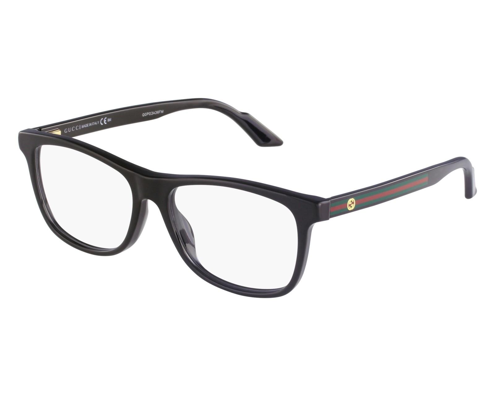 Óculos de Grau Gucci Preto GG3725 - 29A/54