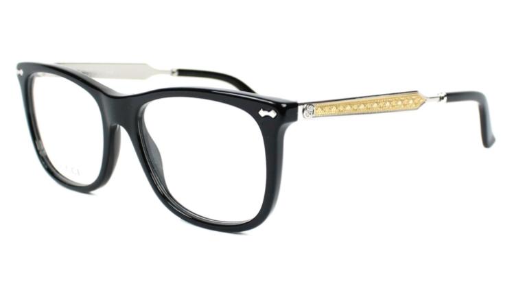 Óculos de Grau Gucci Preto GG3852 - CSA/52