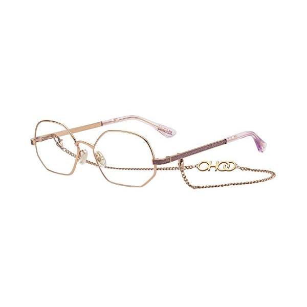 Óculos De Grau Jimmy Choo frame JC-245 Glitter Burgundy