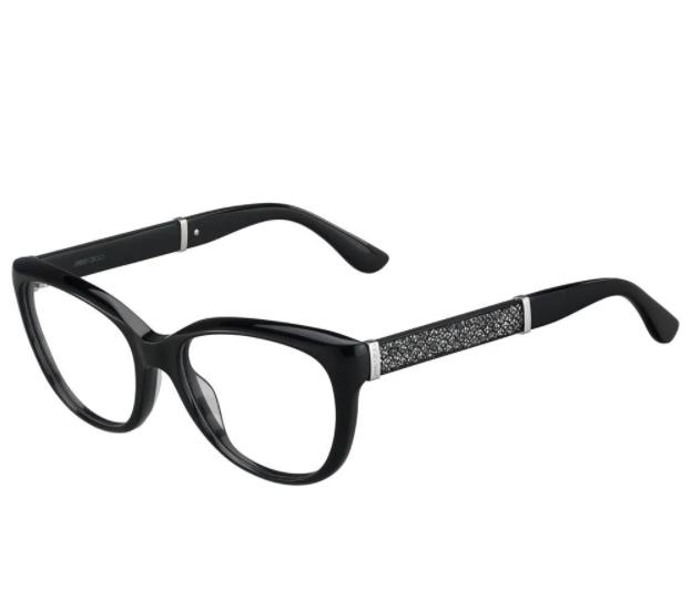Óculos de Grau Jimmy Choo Preto 179 - FA3/52