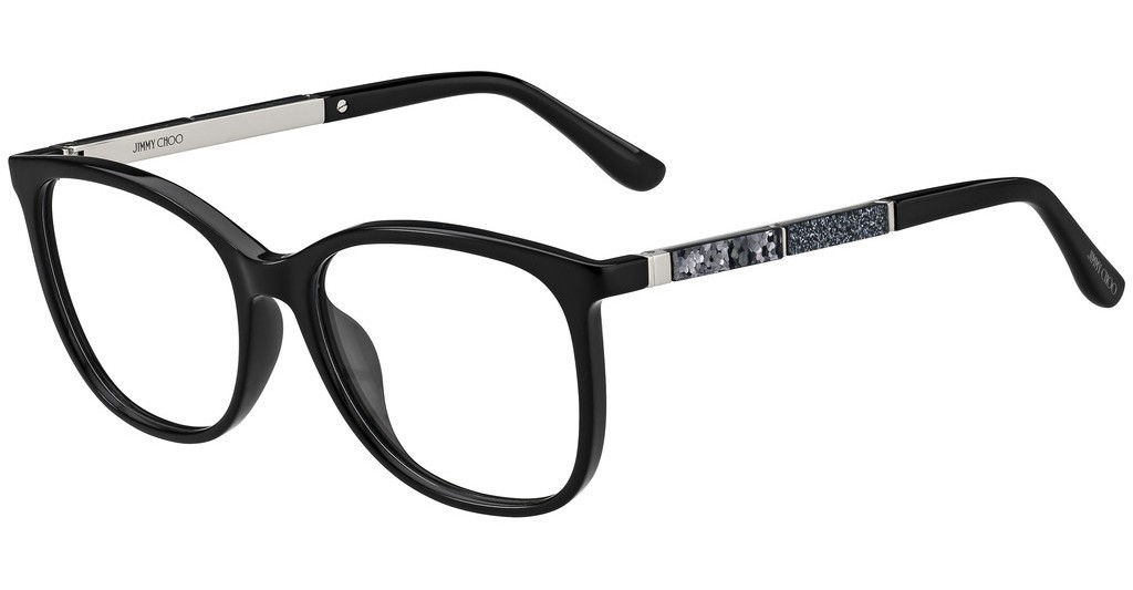 Óculos de Grau Jimmy Choo Preto JC191 - 807/53