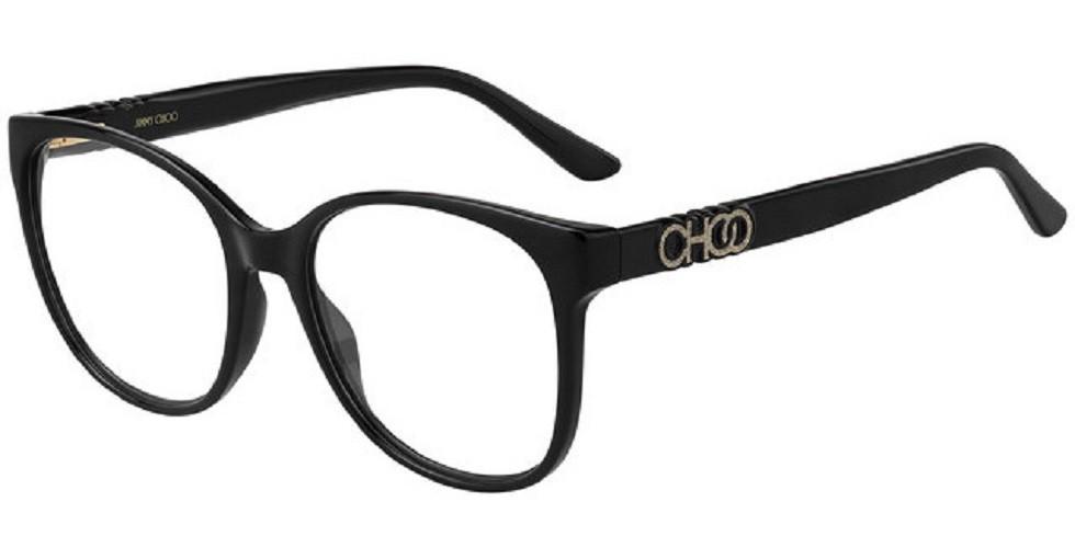 Óculos de Grau Jimmy Choo Preto JC242 - 807/54