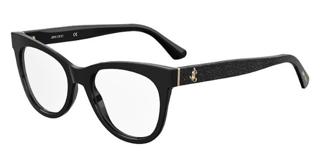 Óculos de Grau Jimmy Choo Preto JC276 - NS8/52