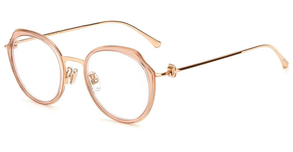 Óculos de Grau Jimmy Choo Rosa JC264G - W66/50