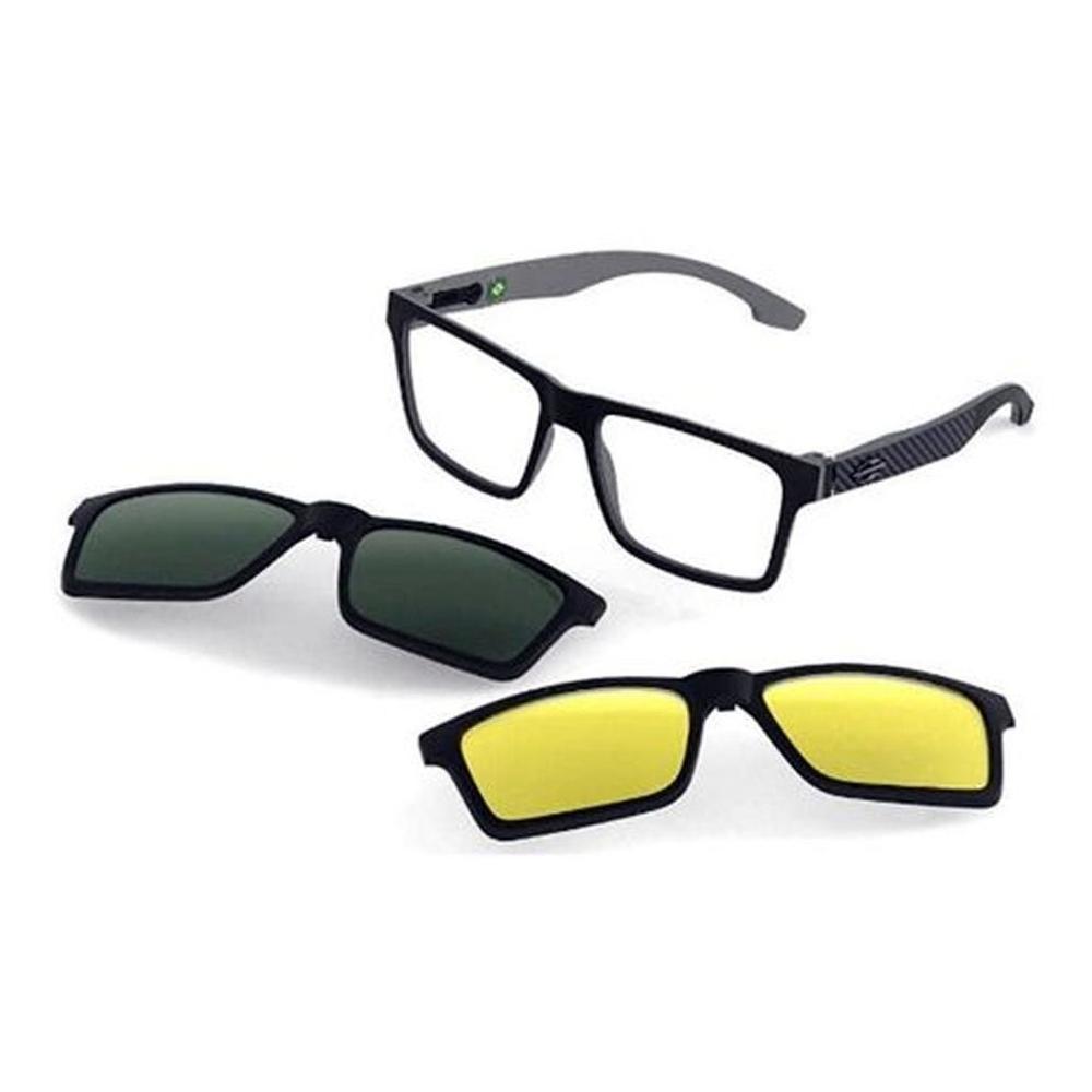 Óculos De Grau Mormaii Swap Ng Duo Clip On M6098 AGA/56