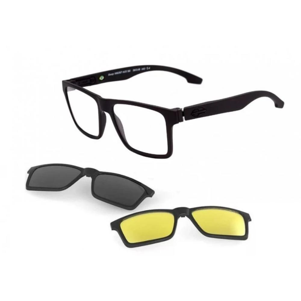 Óculos De Grau Mormaii Swap Ng Duo Clip On M6098 A14/56